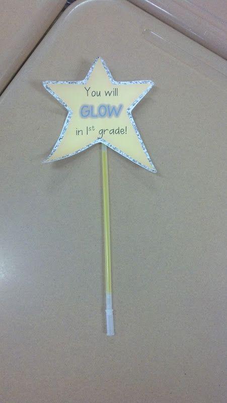 first grade meet the teacher ideas star