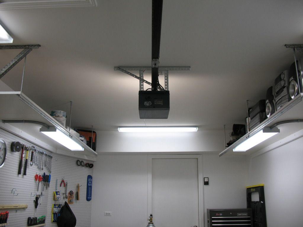 One Car Garage Storage Solution With Images Garage Storage