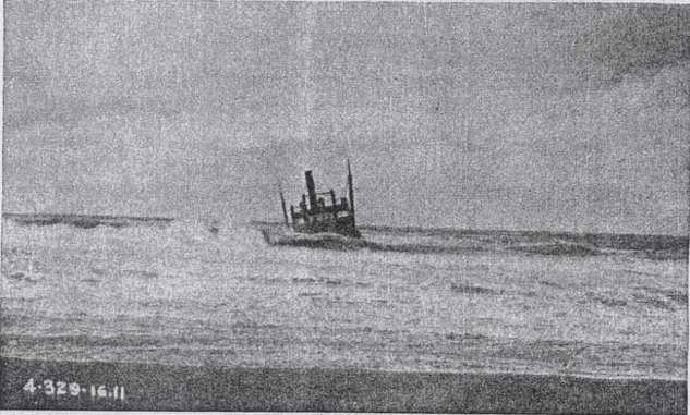 """Today is the 85th anniversary of the most popular Ship Wrecks on the Northern Outer Banks.  The Carl Gerhard, part of the """"Triangle Wrecks"""", ran aground off of what is currently 2nd Street, Kill Devil Hills.  #obx #outerbanks #anouterbankstradition #joelambjr #outerbanksrentals #nagshead #killdevilhills #kittyhawk #southernshores #OBXhistory #shipwreck #graveyardoftheatlantic"""