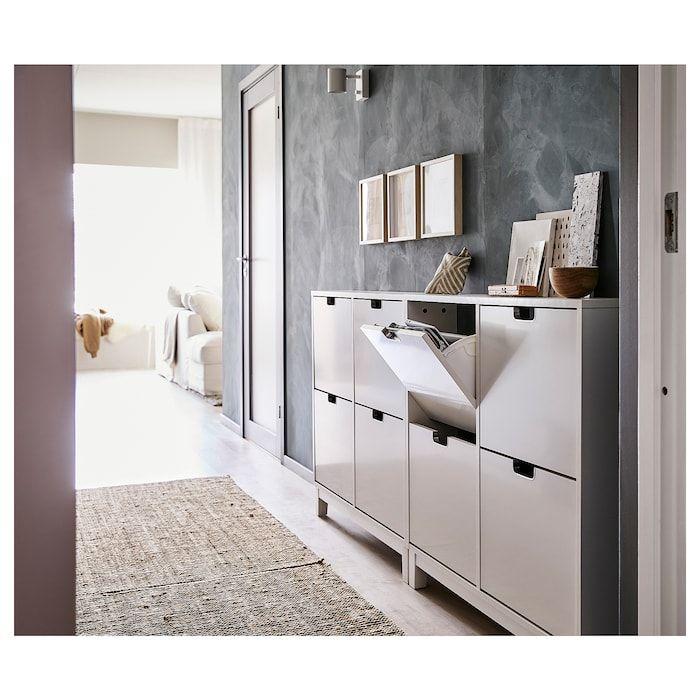 STÄLL Schuhschrank 4 Fächer - weiß - IKEA Deutschland #entreindretning