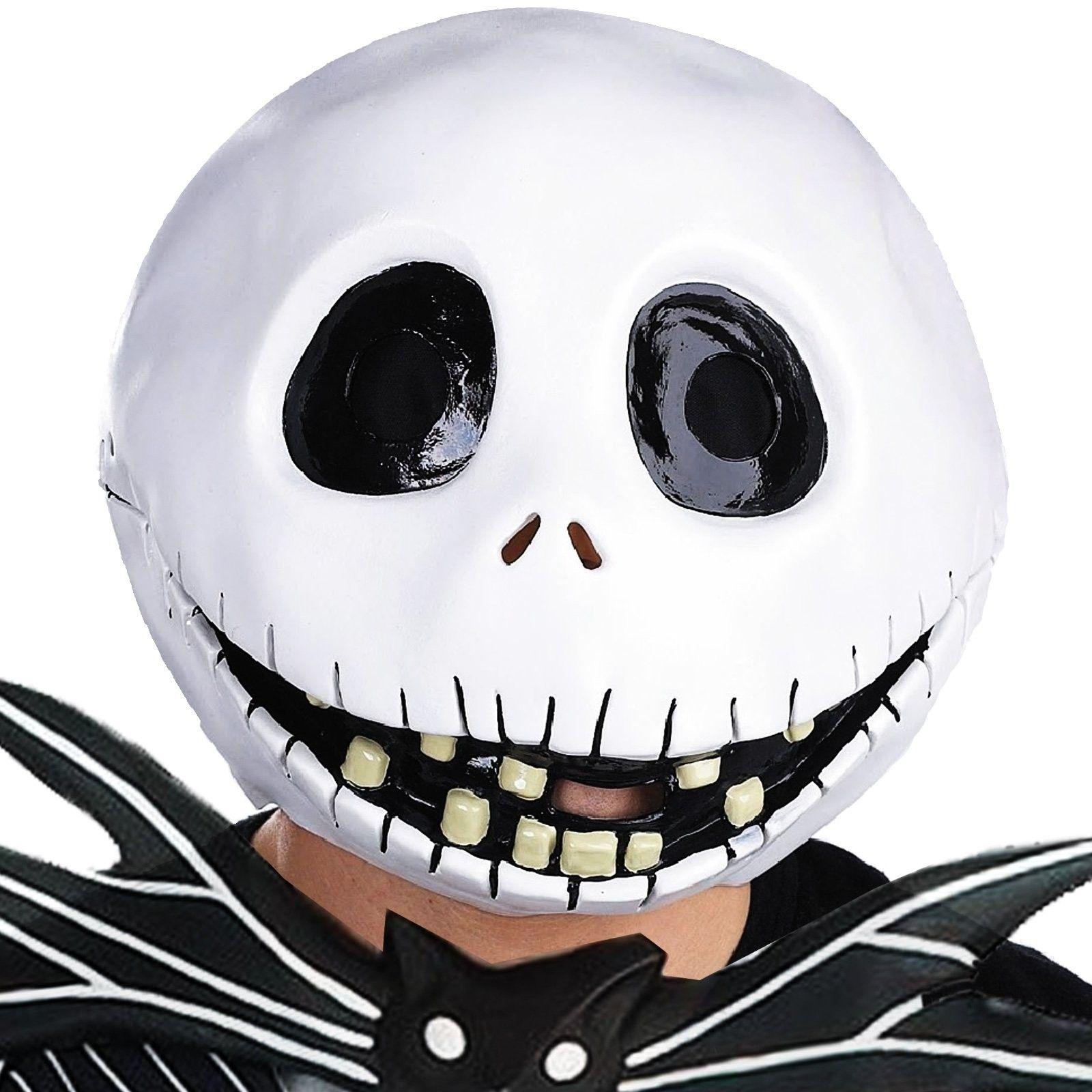Jack Skellington Mask - Complete over the head vinyl mask with ...