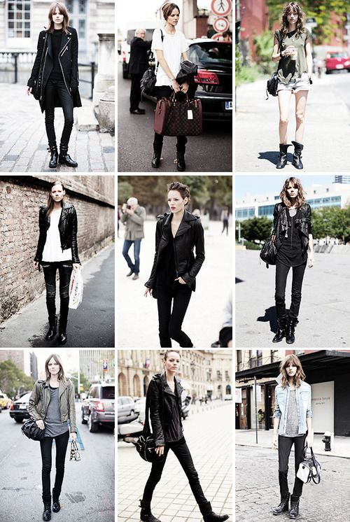 Fashion inspiration: Freja Beha Erichsen