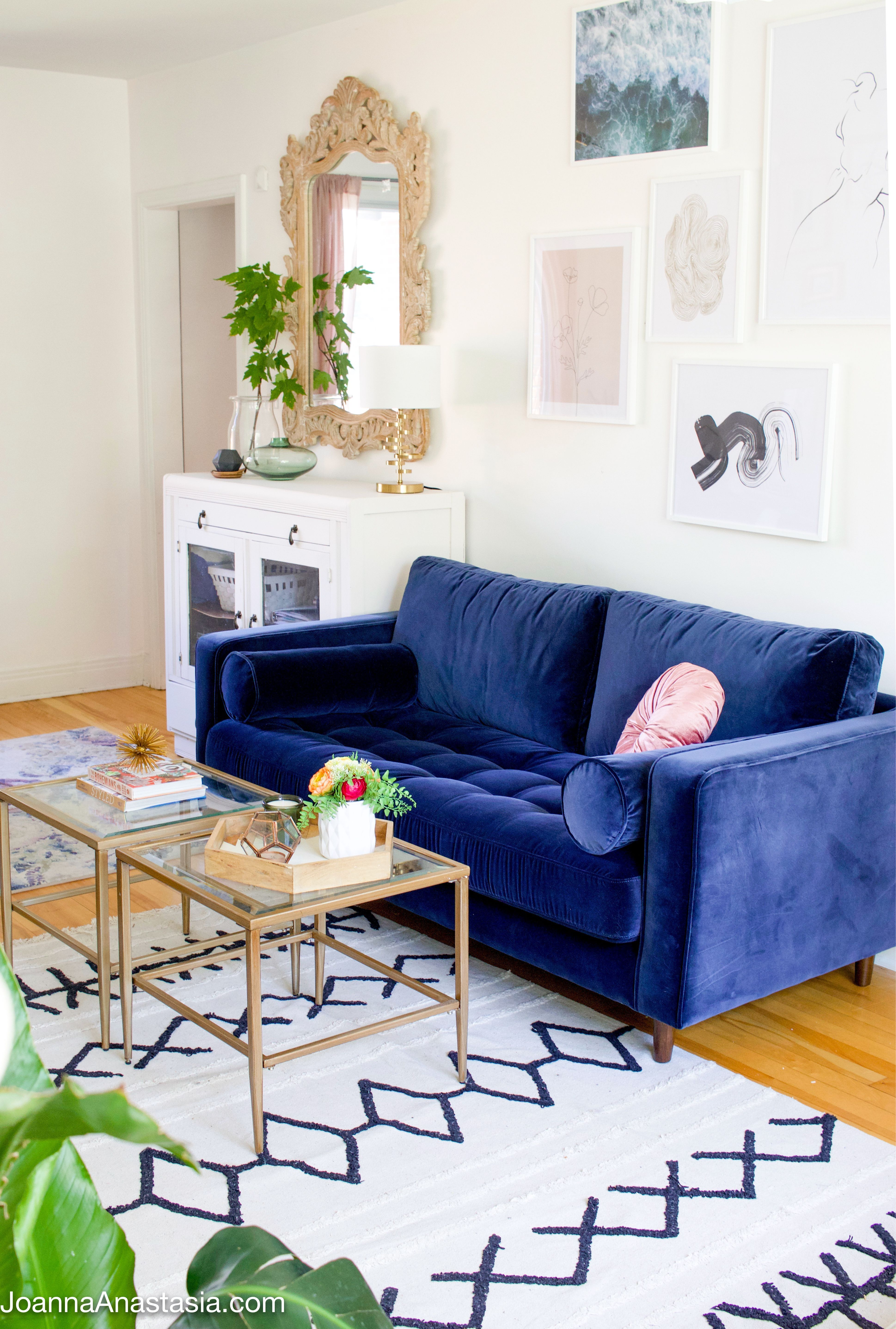 Check Out This Comfortable And Cozy Sitting Room With No Tv The Type Of A Space Where We Could Catc Eclectic Living Room Living Room Reveal Living Room Decor