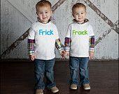 Frick & Frack Twin Shirt Set