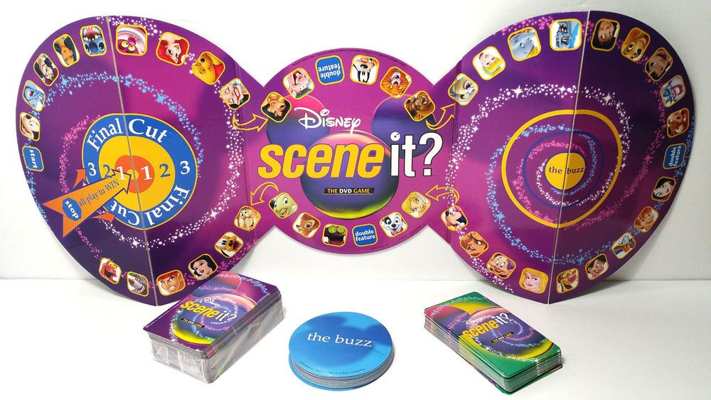 2004 SCENE IT JR 4 Movers Tokens Trivia Game Replacement Parts
