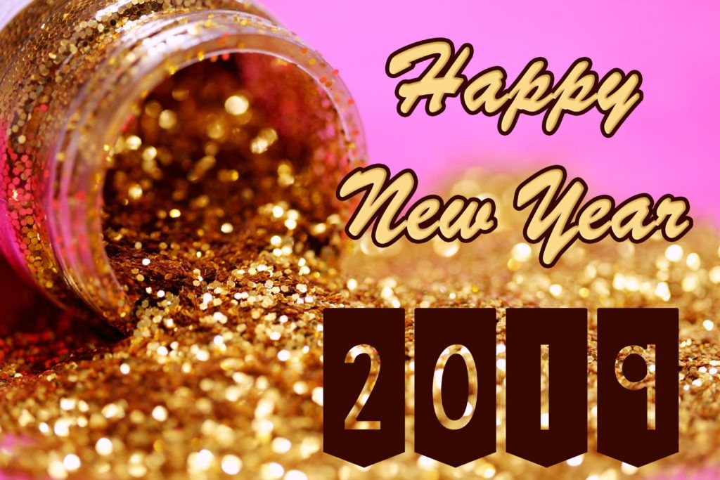 2019 wallpaper hd new year gold