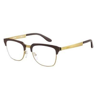 5fc578571 Óculos de Grau Carrera Dourado com Preto Fosco - CA6642 | kính cận ...