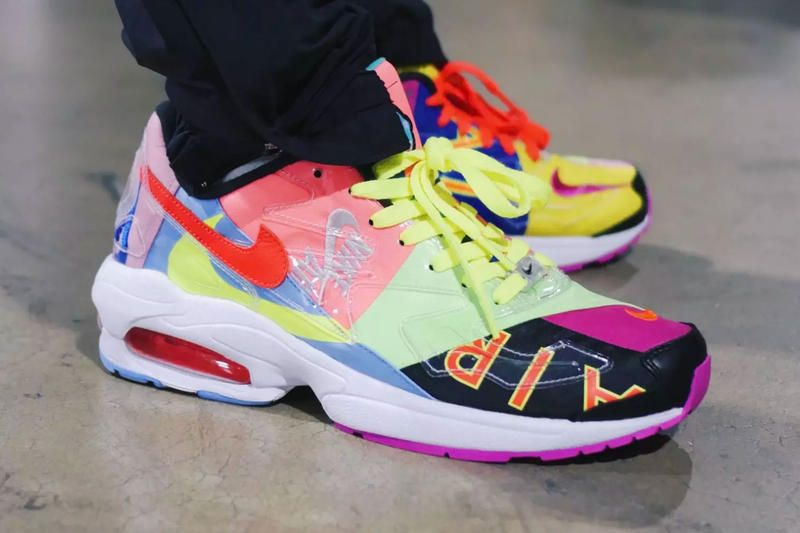 99f80ae30345 atmos Nike Air Max2 Light First Look Release Date air max day march 2019  hirofumi kojima Info Multicolor Patchwork