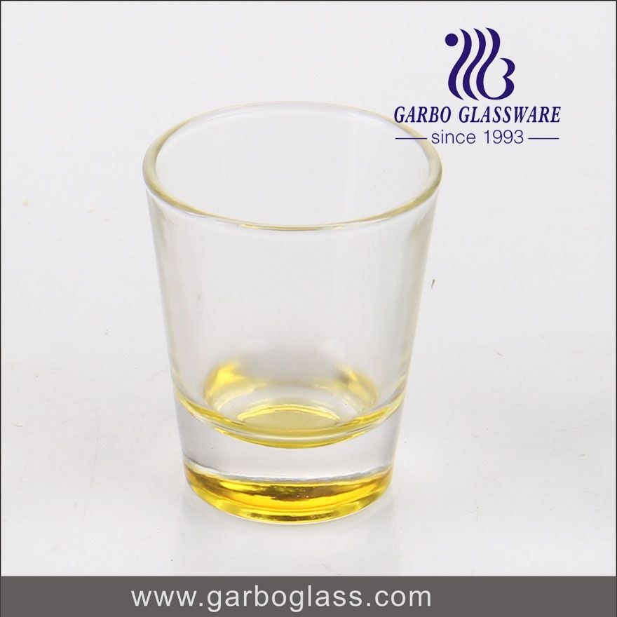 Spray Color Shot Glass, Samll Order With High Quality
