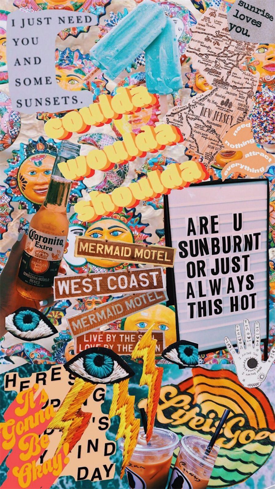 VSCO - #oceangoalz | courtklebacher | wallpapers ☄ | Vsco, Aesthetic wallpapers, Collage