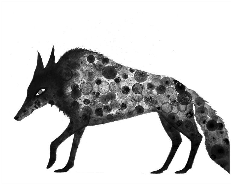 Inky Wolf