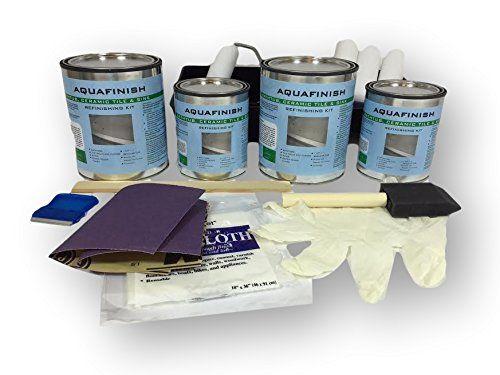 Aquafinish Bathtub And Tile Refinishing Double Kit Refinishing