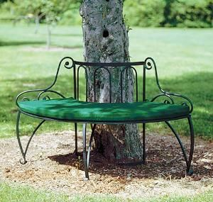 Curvaceous And Inviting The Lutyen Tree Bench Beckons You To Stay