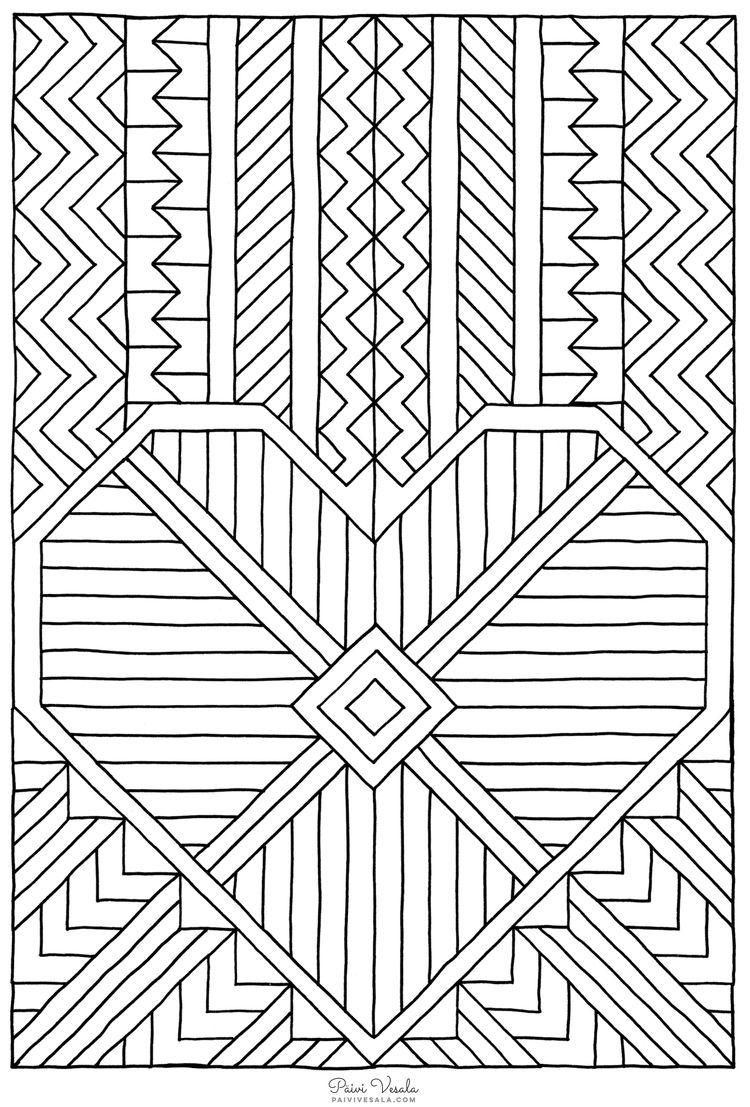 C Paivi Vesala 1449504778683 750 1107 Mandala Coloring
