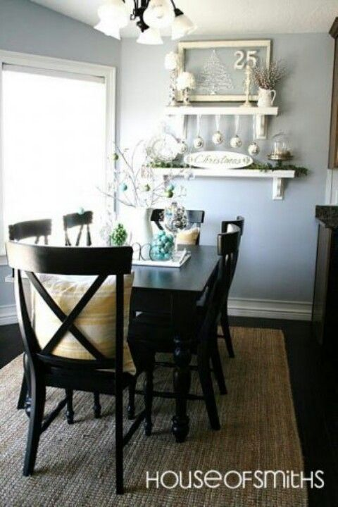 Dockside Blue Sherwin Williams Dining Room Wall Color Interior Decorating Blog Home