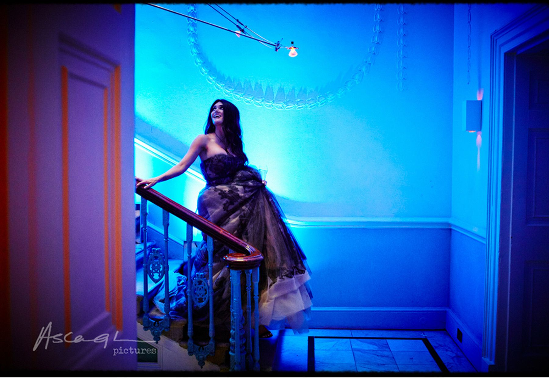 Our Muse - Bold Blue Wedding - Be inspired by Rachel and George's modern blue wedding in London - modern wedding, london, home house