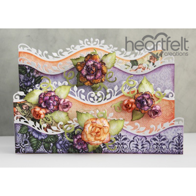 Heartfelt Creations - Delicate Borders And Roses Project