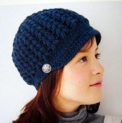 Gorros Tejidos A Crochet Para Jovenes  9347cd4a110