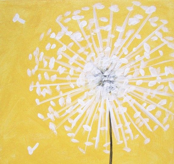 Paintings On Canvas Art, Paintings With Yellow Background