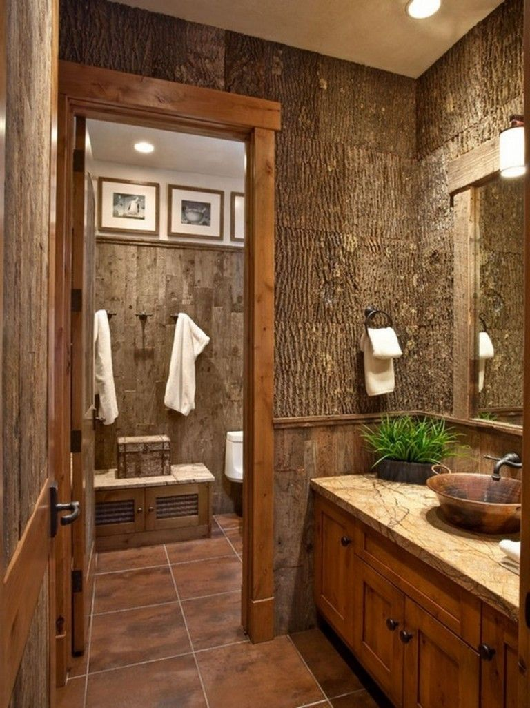 Best 27 Amazing Small Rustic Bathroom Decorating Ideas On A Budget Rustic Bathroom Designs Small Rustic Bathrooms Rustic Bathrooms