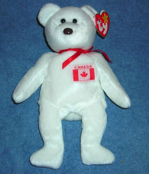 5b642925f2a MAPLE THE CANADIAN BEANIE BABY BEAR BEANIE BABIES VERY RARE MINT WITH MINT  TAG