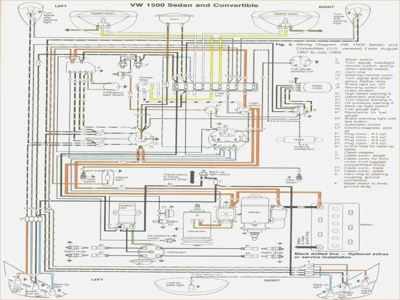1969 Beetle Wiring Diagram Vw Beetle Wiring Diagram 1974 | Vw super beetle, Vw  beetles, Volkswagen beetlePinterest