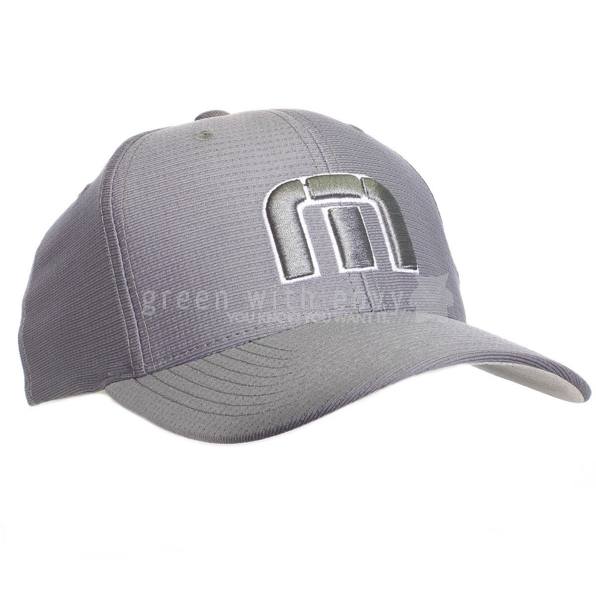 Soft Mesh Hat With Flex Fit Band Embroidered Tm Logo With Outline Travis  Mathew