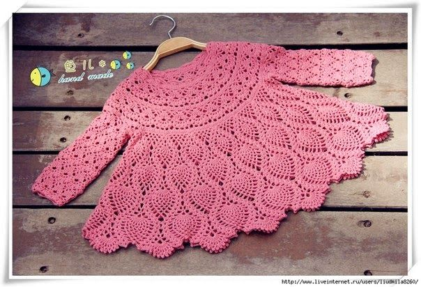 Craft Oasis: PINK TUNIC FOR GIRLS ♥
