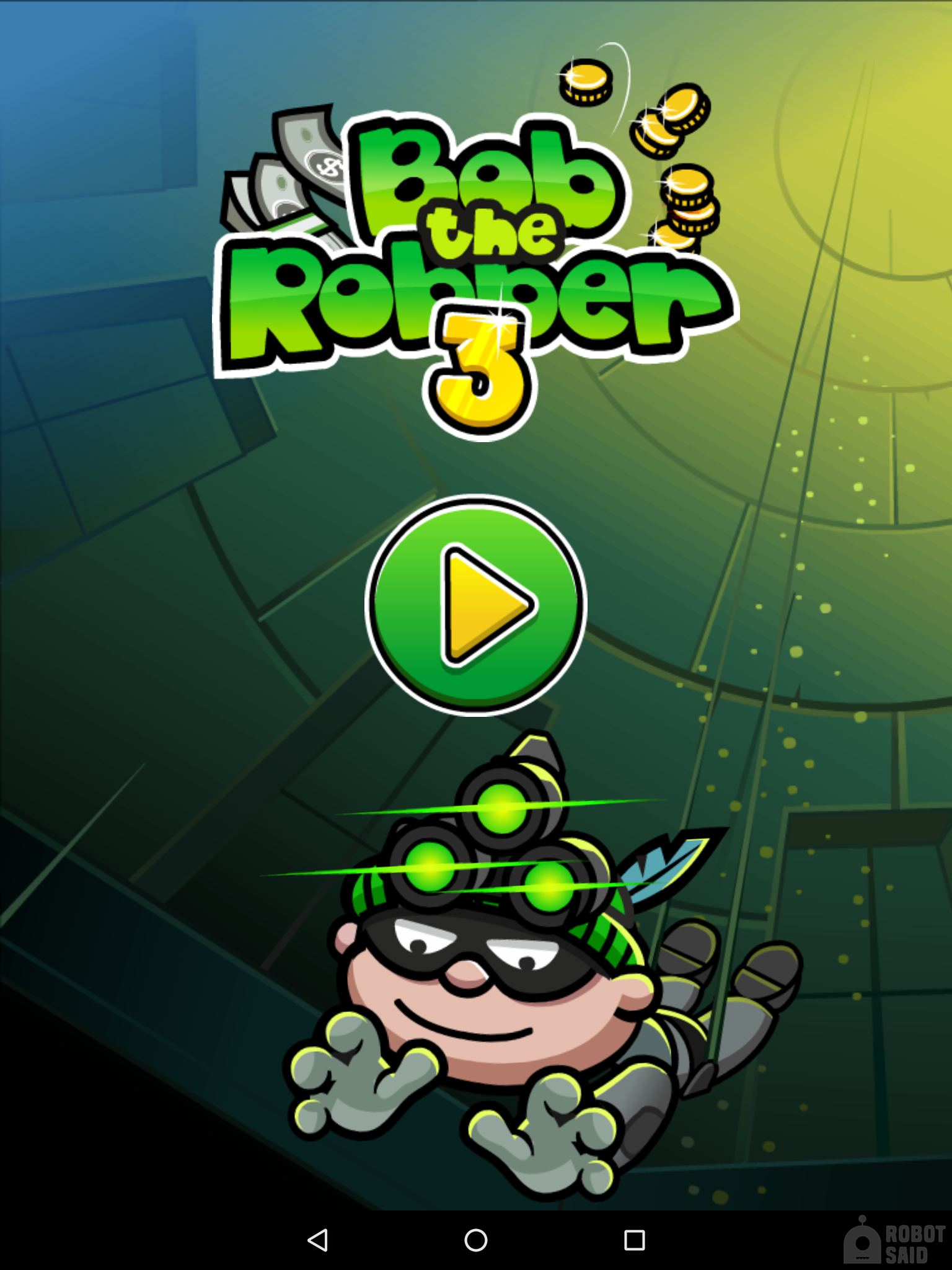 Bob the Robber 3 first official release of the popular franchise on mobile