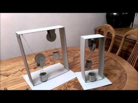 Experimento La Cosa Va De Poleas Youtube Maquetas De Maquinas Simples Experimentos Experimentos Para Feria Cientifica