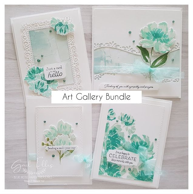 Art Gallery Floral Cards **Sneak Peek**