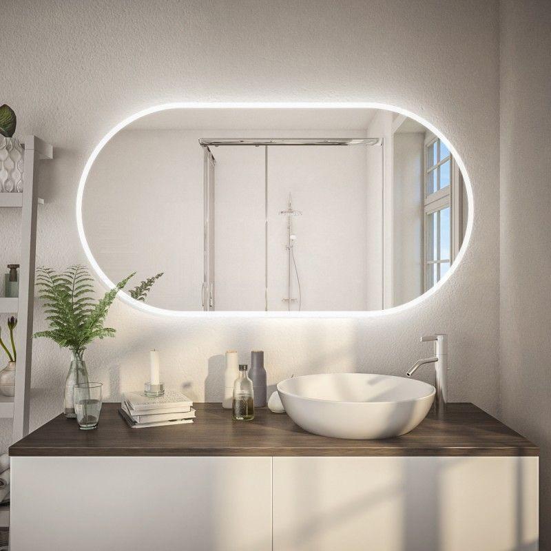 Badezimmerspiegel Abgerundet Kaufen F597l4k Badezimmerspiegel