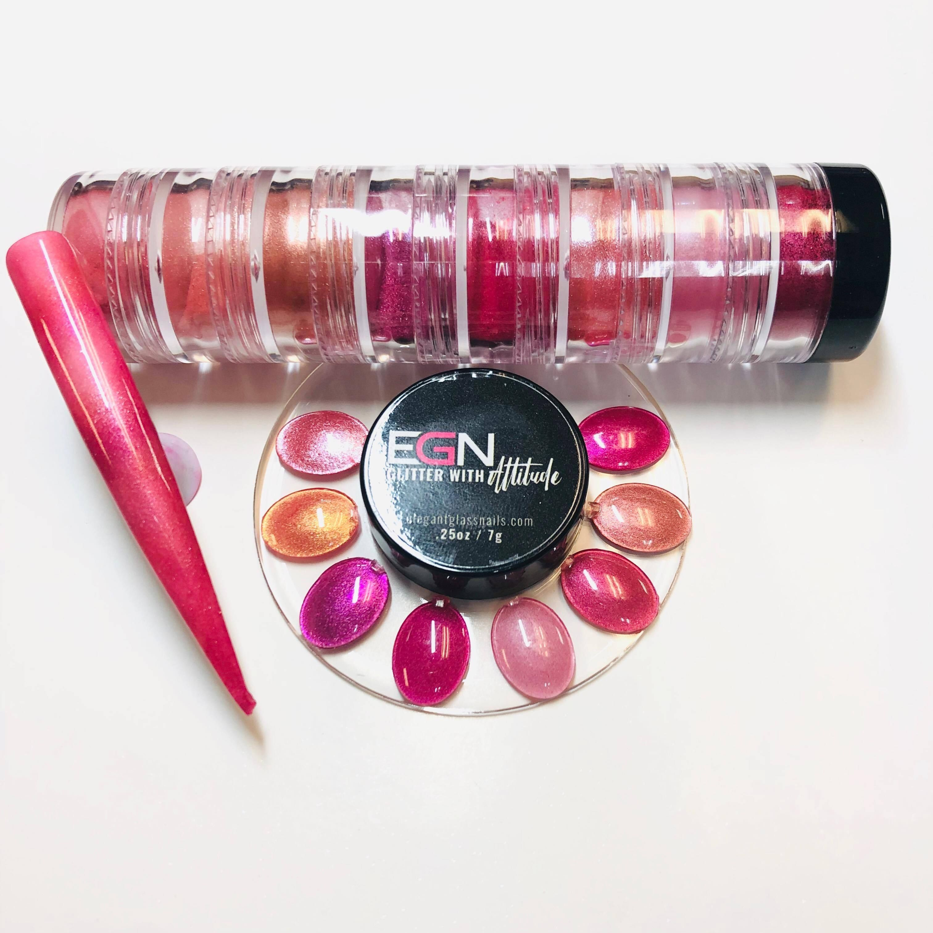 Make me blush pigment stackerelegant glass nailscordoza