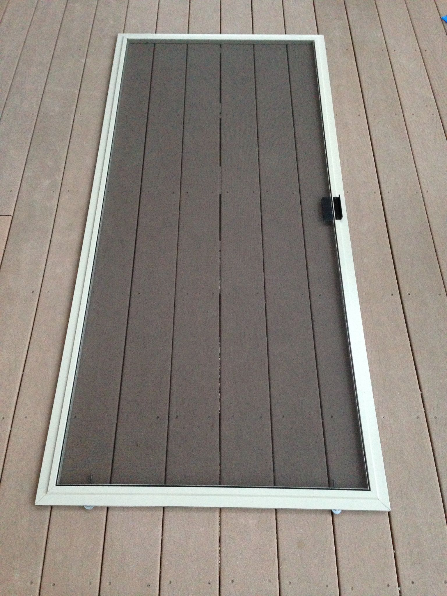 How To Re Screen A Window Or Sliding Glass Door Screen
