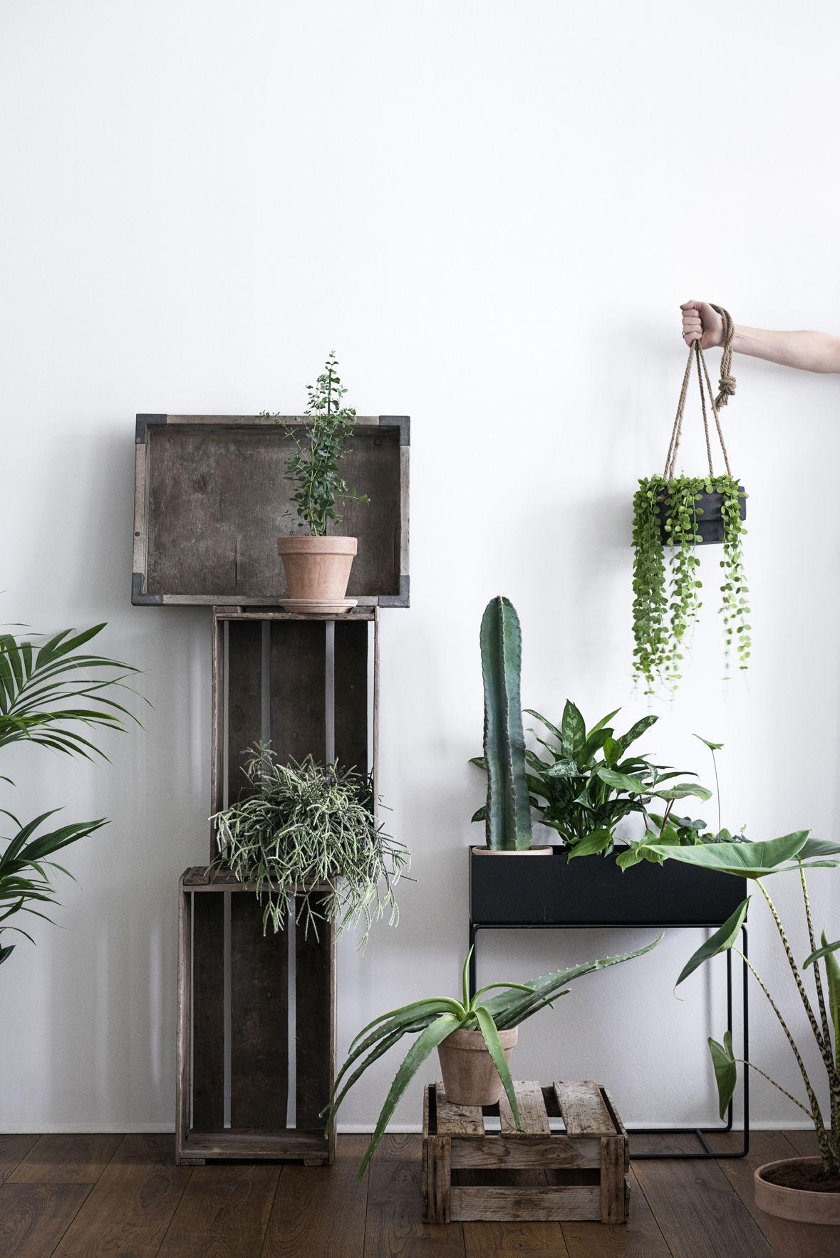 ferm living plantenbak zwart