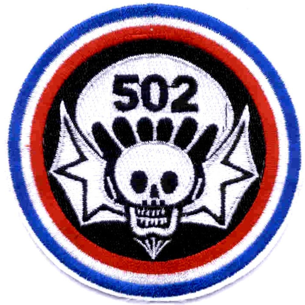 Large Sizes Vintage US Army 502nd Parachute Infantry Patch Vinyl Decal Sticker