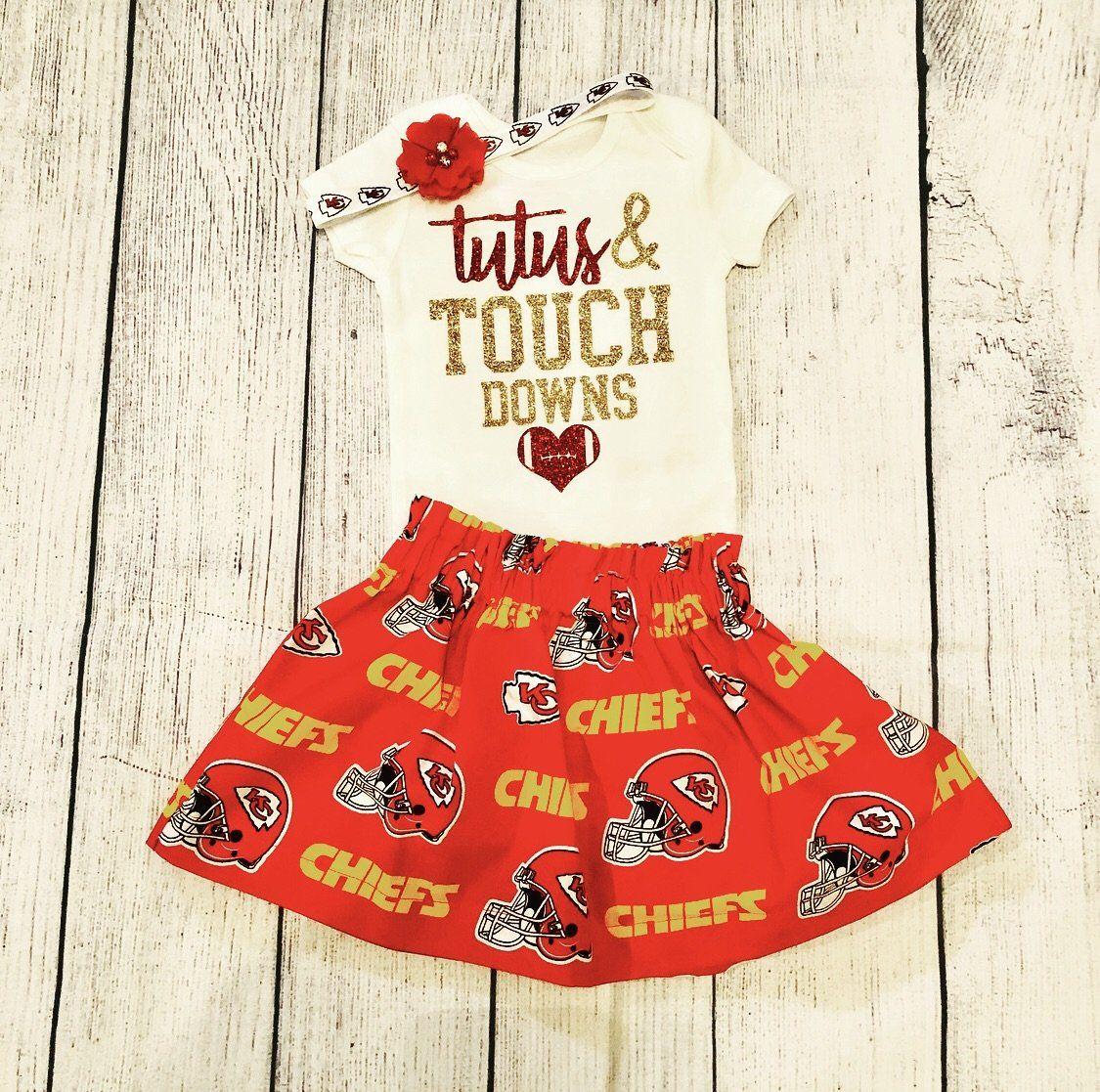 Kansas City Chiefs Toddler Girl Skirt