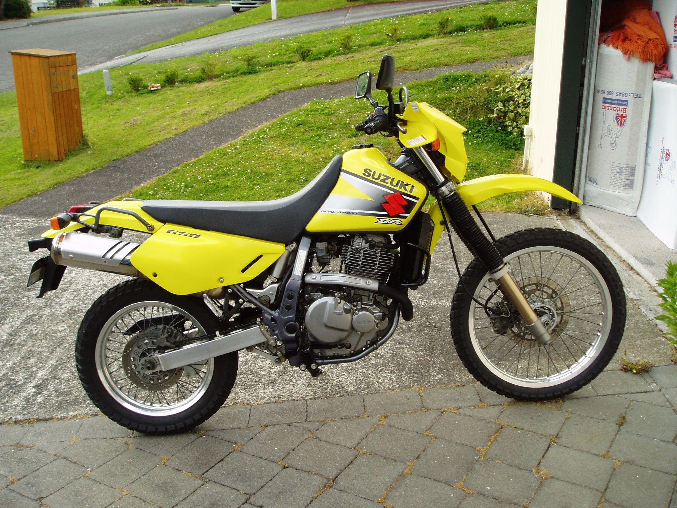 Suzuki Dr650 2003 Nz Suzuki Dr650 Dr650 Suzuki