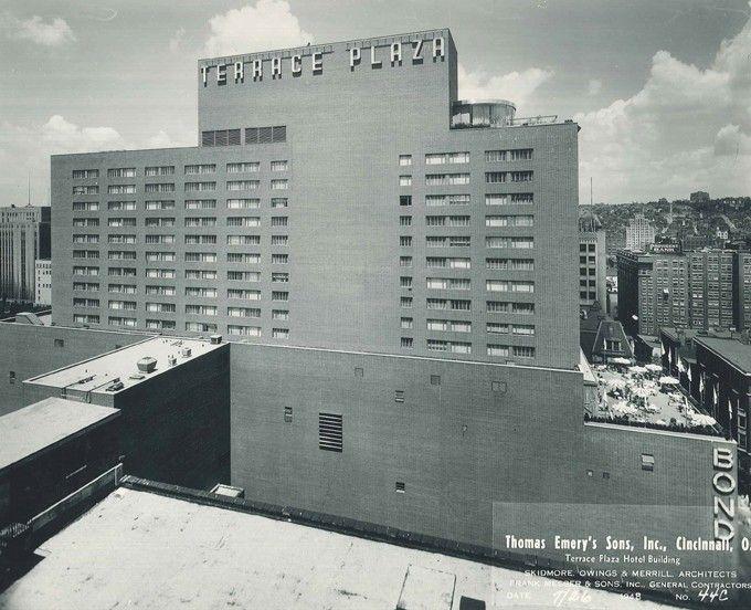The Terrace Plaza Hotel In Downtown Cincinnati Was