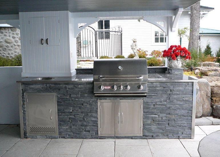 am nagement paysager cuisines ext rieures et si on cuisinait dehors pinterest cuisine. Black Bedroom Furniture Sets. Home Design Ideas