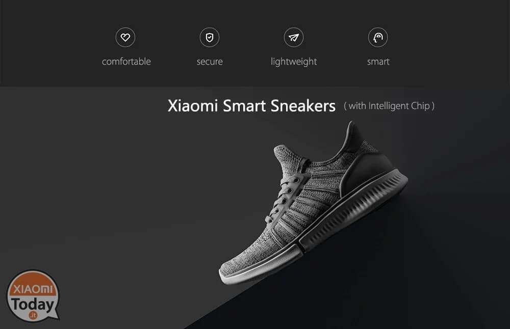 Offerta Sneakers Xiaomi con Chip Intelligente a 34