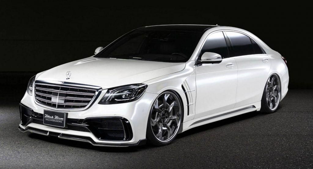 Walds Mercedes-Benz S-Class Aint The Prettiest Black Bison Weve Seen