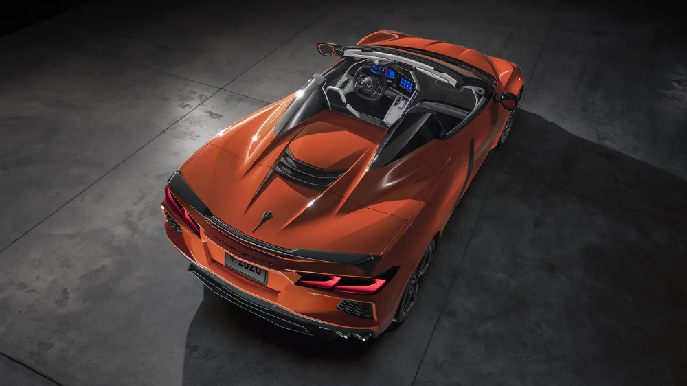 2020 Chevrolet Corvette C8 Convertible Revealed Open Air Speed Without Compromise The Drive Chevrolet Corvette Stingray Corvette Stingray Chevrolet Corvette