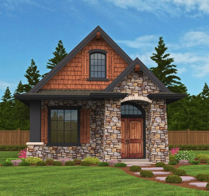 Plan 85107ms Rustic Guest Cottage Or Vacation Getaway In 2019