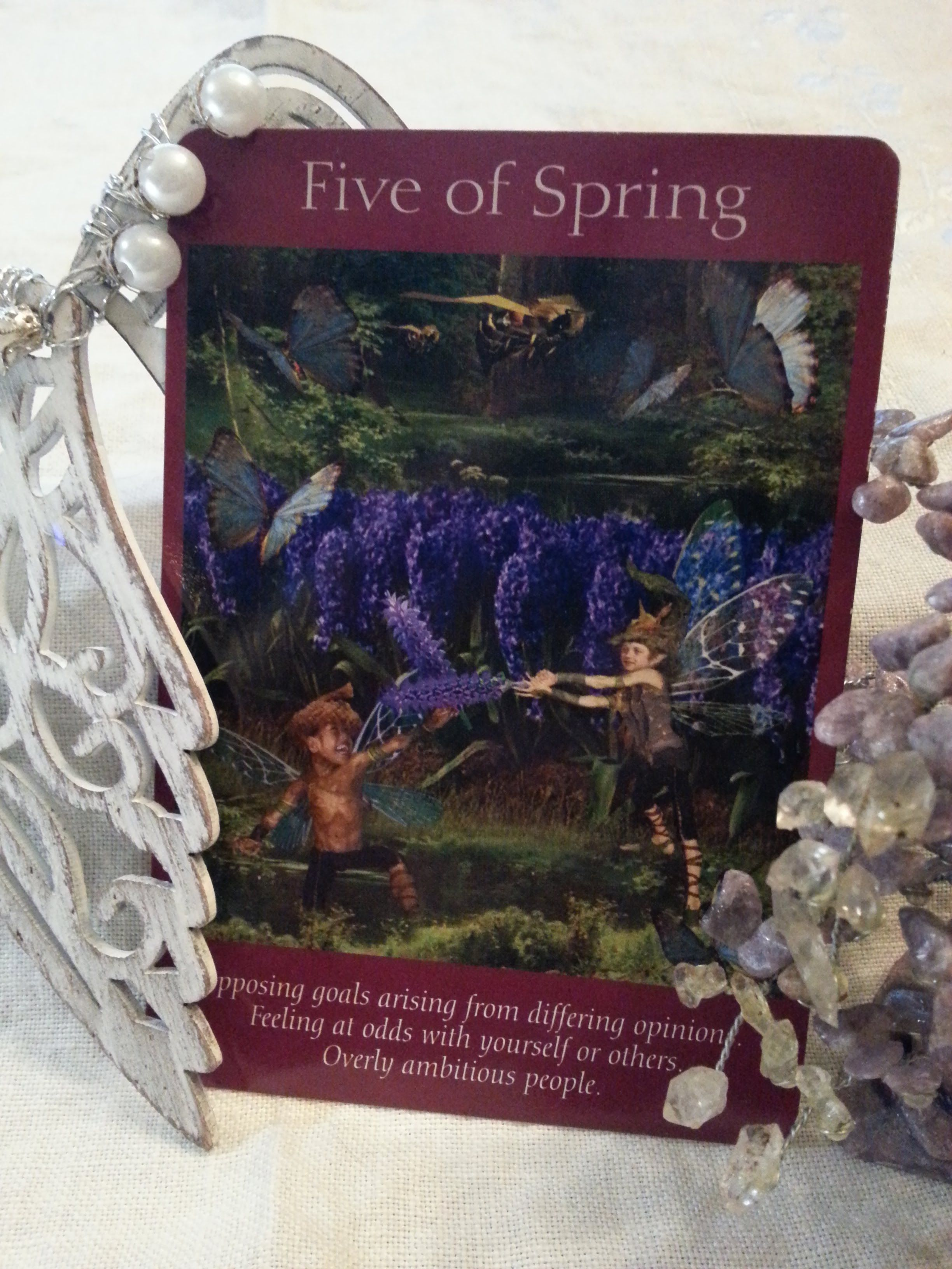 17 february saturday five of spring todays energy is
