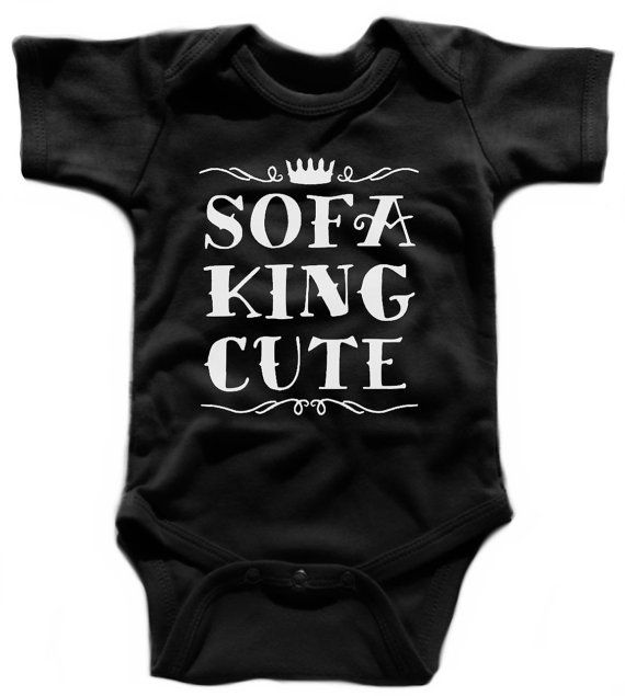 Black Word Omg Infant Toddler Baby Cotton Bodysuit One Piece