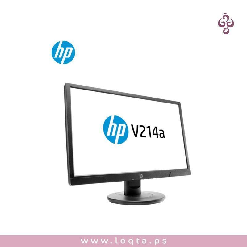 شاشة عرض Hp V214a صورة بدقة عالية مكبرات صوت مدمجة موفرة للطاقة استجابة سريعة متجر لقطة لسى في أكتر فيك Computer Monitor Electronic Products Electronics