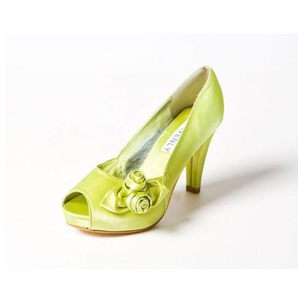Help Me To Pick My Green Shoes Wedding Dye Rosebud Lime 73776