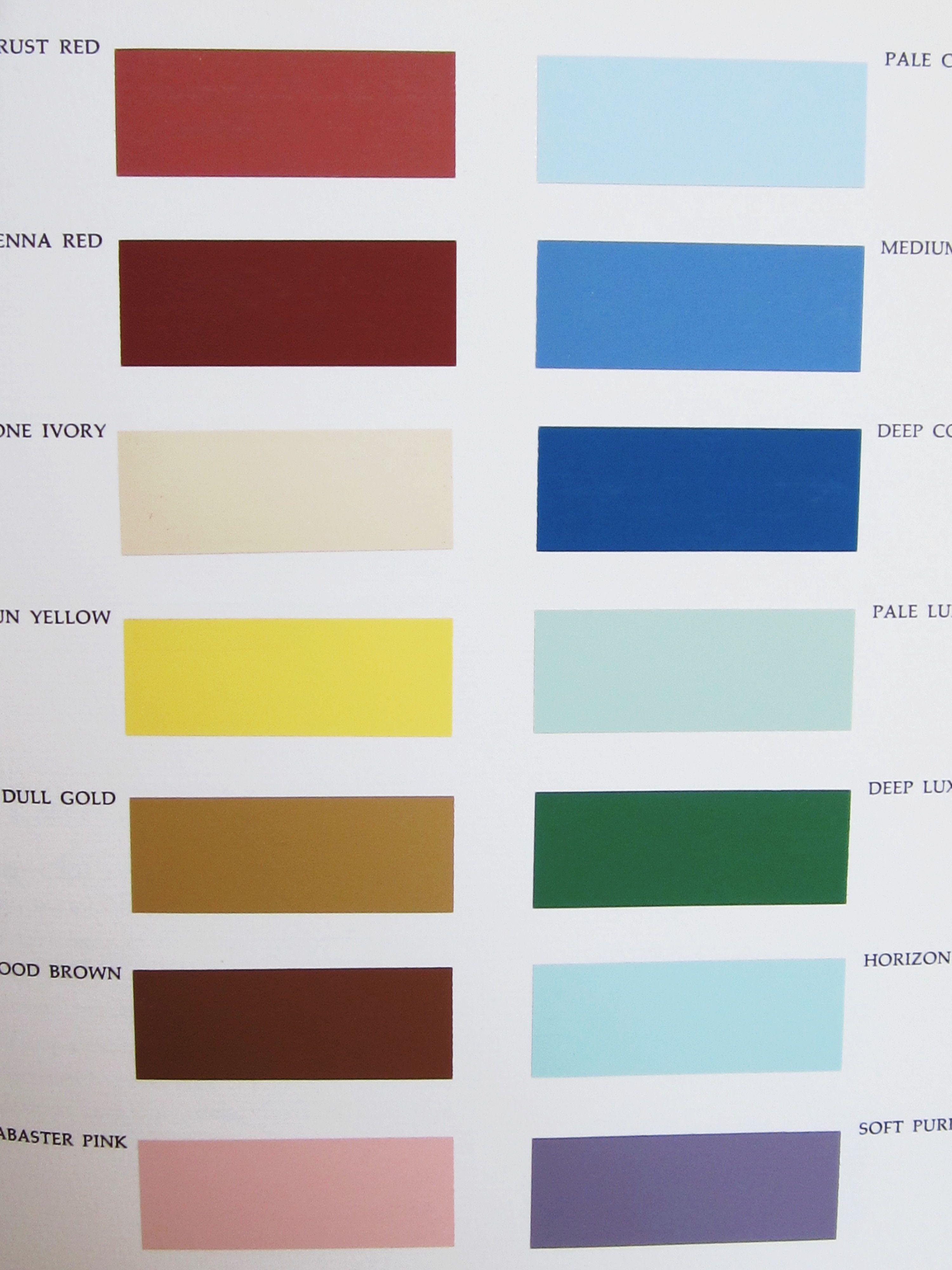 Paleta De Color Utilizada Por Los Antigus Egipcios En La Decoración Sus Pinturas E Interiores Esmadeco