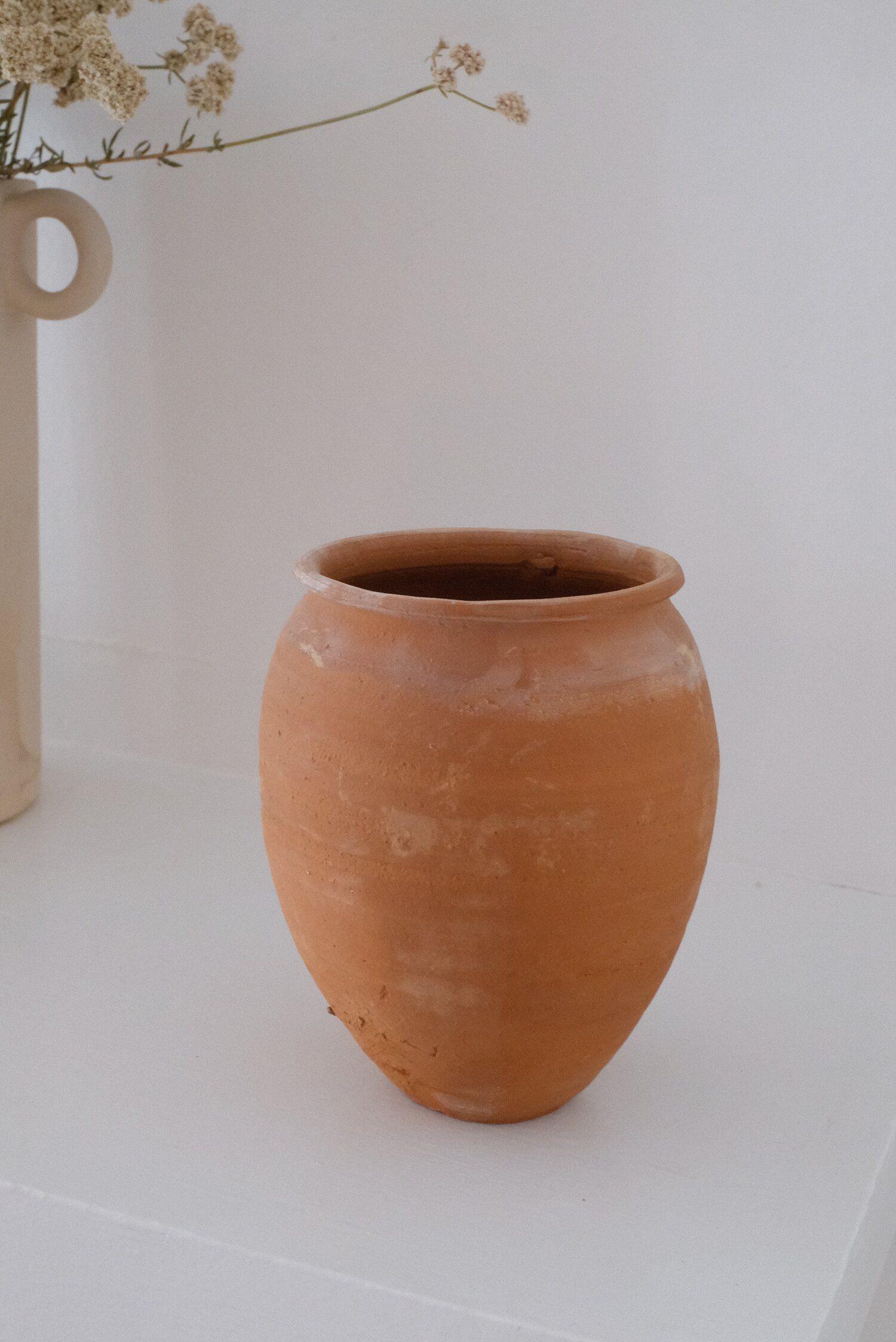 Mexican Textural Terracotta Pot Arroyo Abode Vintage Terracotta Pots Terracotta Pots Terracotta